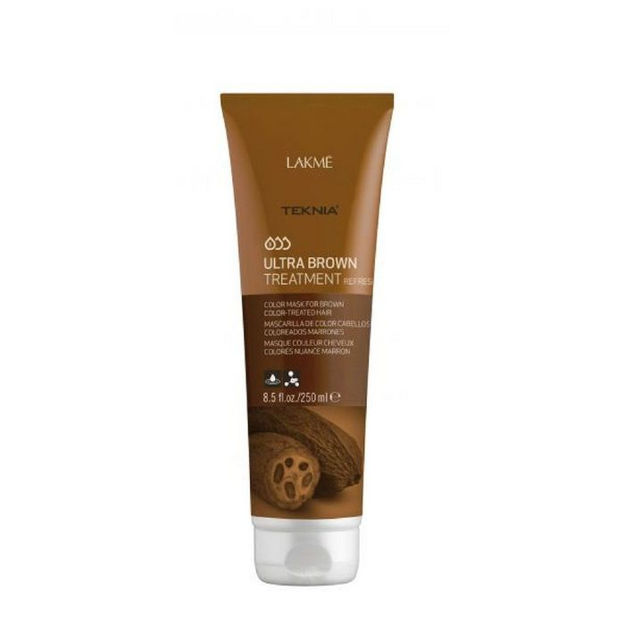 Средство, освежающее цвет коричневых оттенков волос Lakme Teknia Ultra Brown Treatment Refresh, 250 мл