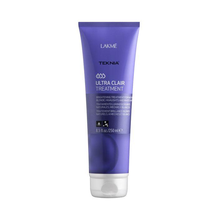 Тонирующее средство для обесцвеченных, натуральных светлых и седых волос Lakme Teknia Ultra Clair Refresh, 250 мл