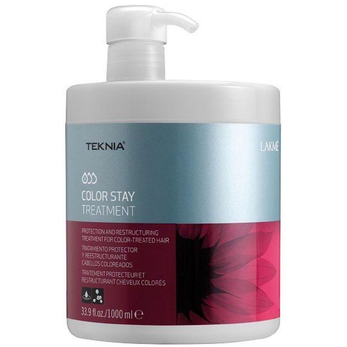 Маска для сохранения цвета и восстановления структуры окрашенных волос Lakme Teknia Color Stay, 1 л