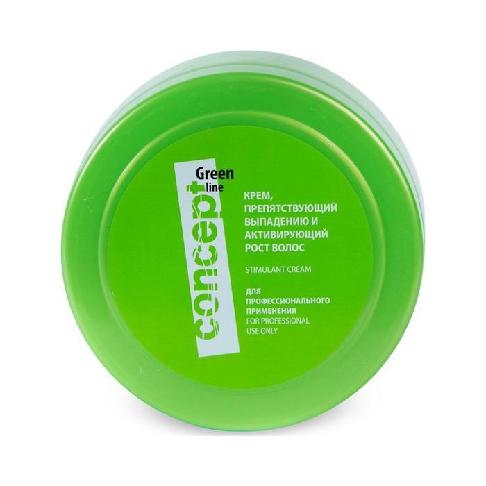 Крем препятствующий выпадению и активирующий рост волос Concept, 300 мл