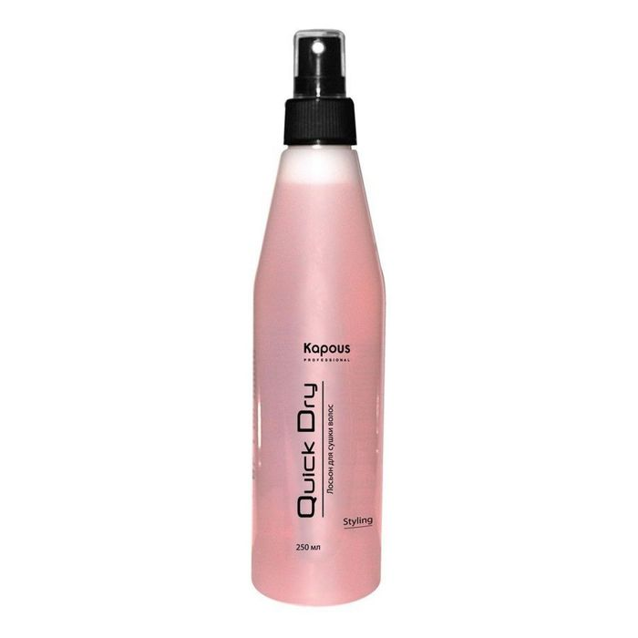 Лосьон для сушки волос Kapous Professiona Quick Dryl, 250 мл