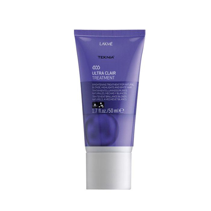 Тонирующее средство для обесцвеченных, натуральных светлых и седых волос Lakme Teknia Ultra Clair Refresh, 50 мл