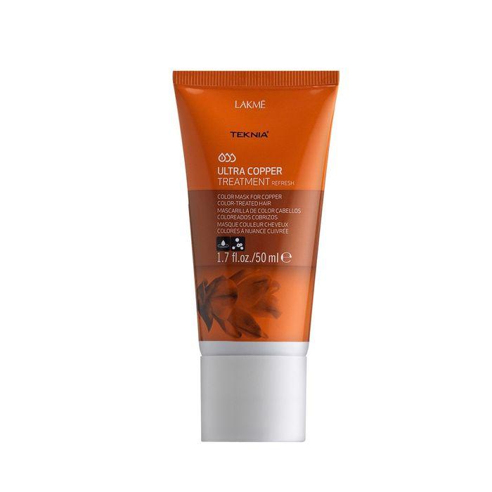 Средство, освежающее цвет медных оттенков волос Lakme Teknia Ultra Copper Refresh, 50 мл