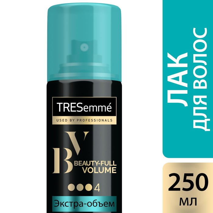 Лак для укладки волос Tresemme Beauty-Full Volume экстра фиксация, 250 мл