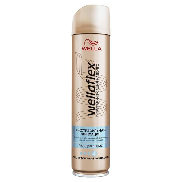 Лак для волос Wellaflex, экстра-сильной фиксации, 250 мл
