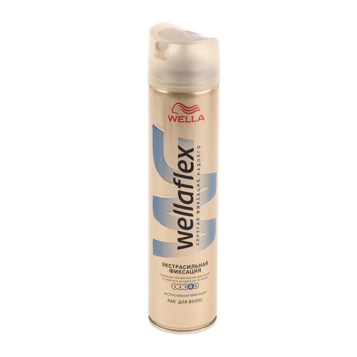 Лак для волос WELLAFLEX  Длительная поддержка объема, экстрасильная фиксация, 250 мл