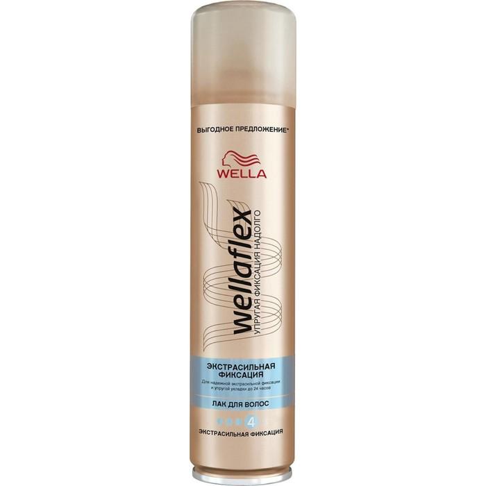 """Лак для волос Wellaflex """"Объём"""", экстрасильная фиксация, 400 мл"""