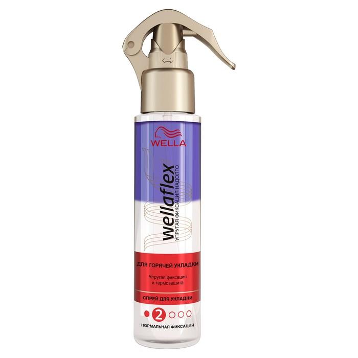 Спрей для волос Wellaflex, для горячей укладки, нормальной фиксации, 150 мл