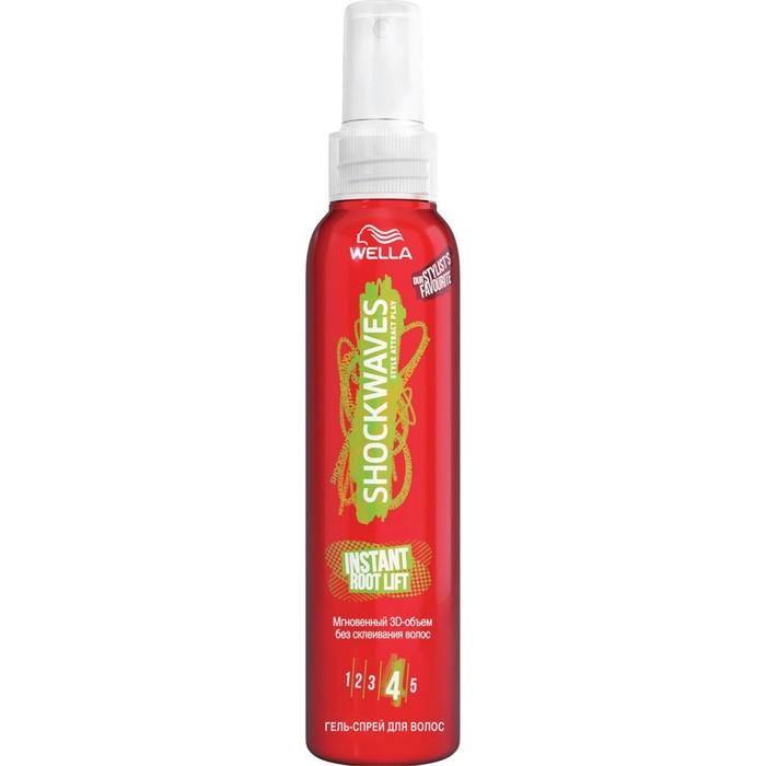 Гель-спрей для волос Wella Shockwaves, мгновенный 3 D объем, 150 мл