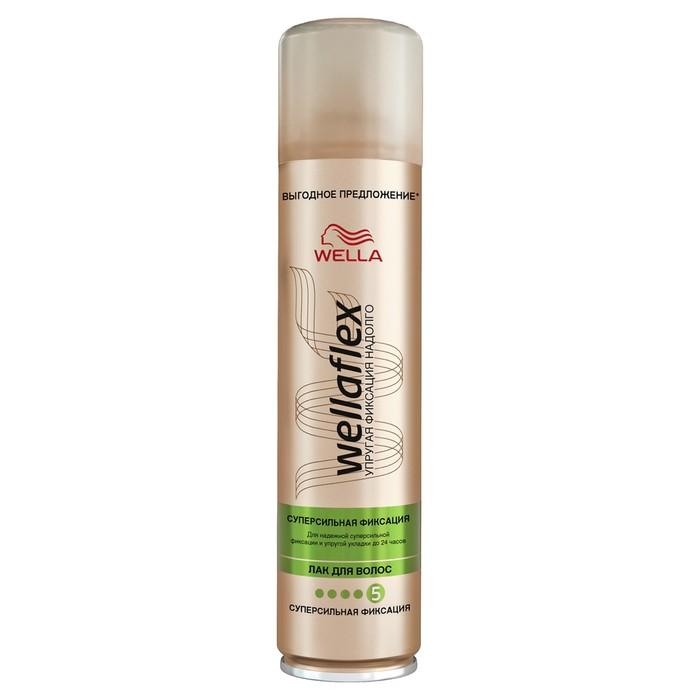 Лак для волос Wellaflex, супер-сильной фиксации, 400 мл