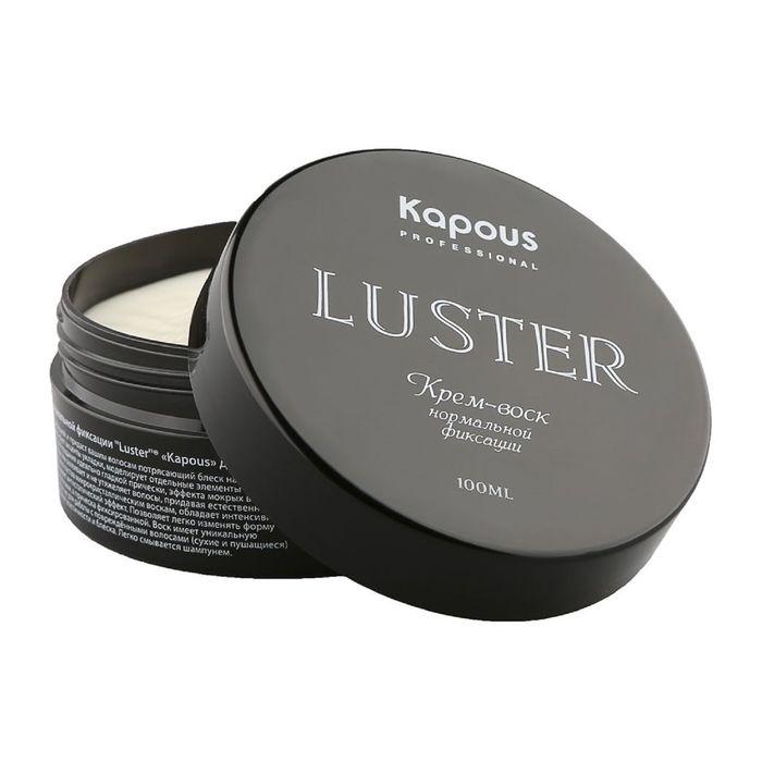 Крем-воск для волос Kapous Professional, нормальной фиксации, 100 мл
