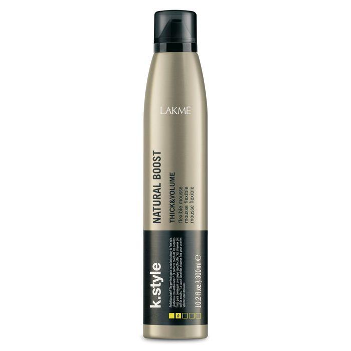 Мусс для прикорневого объёма Lakme K.Style Thick&Volume Natural Boost, 300 мл