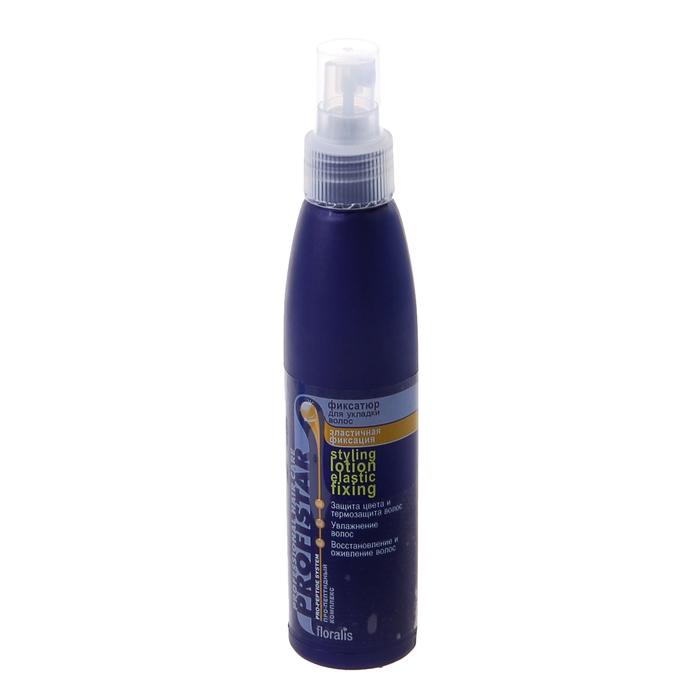 Фиксатюр для укладки волос Эластичная фиксация 150мл