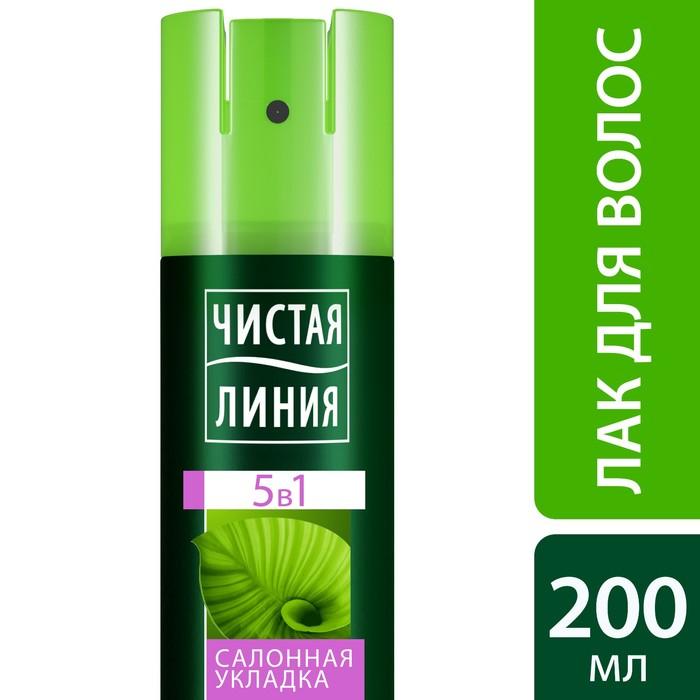 Лак для укладки волос Чистая линия Фитосалон увлажнение + укладка, 200 мл