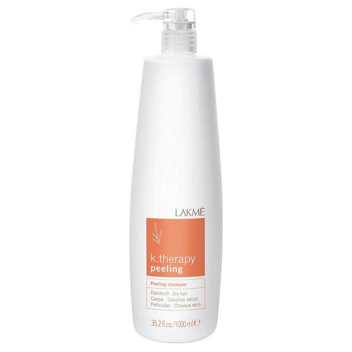 Шампунь против перхоти для жирных волос Lakme K.Therapy Peeling Dandruff Oily Hair, 1 л
