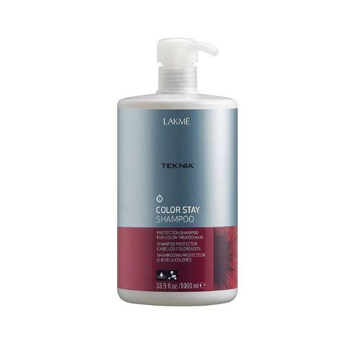 Беcсульфатный шампунь для защиты цвета окрашенных волос Lakme Teknia Color Stay, 1 л