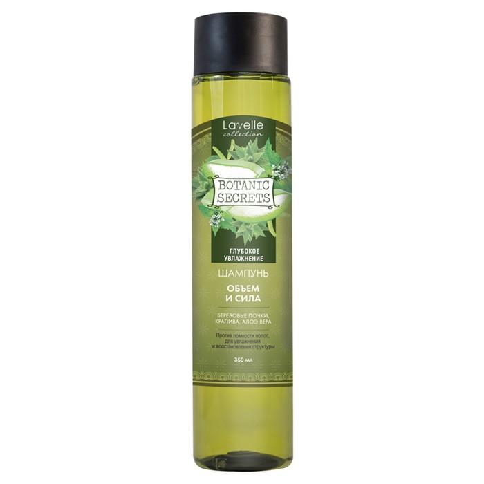 """Шампунь для волос Botanic Secrets """"Объем и сила"""", 350 мл"""