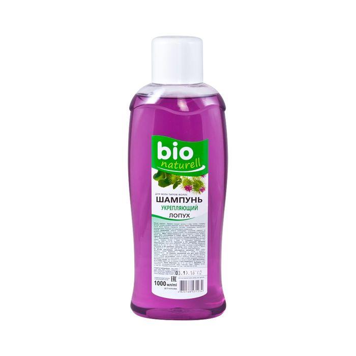 Шампунь для волос Bio naturell, укрепляющий, лопух, 1000 мл