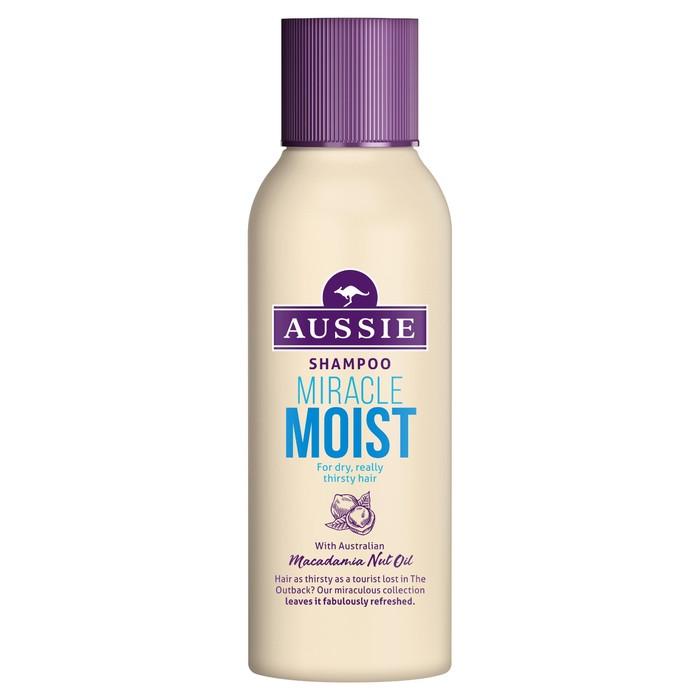 Шампунь Aussie Miracle Moist для сухих и поврежденных волос, 90 мл