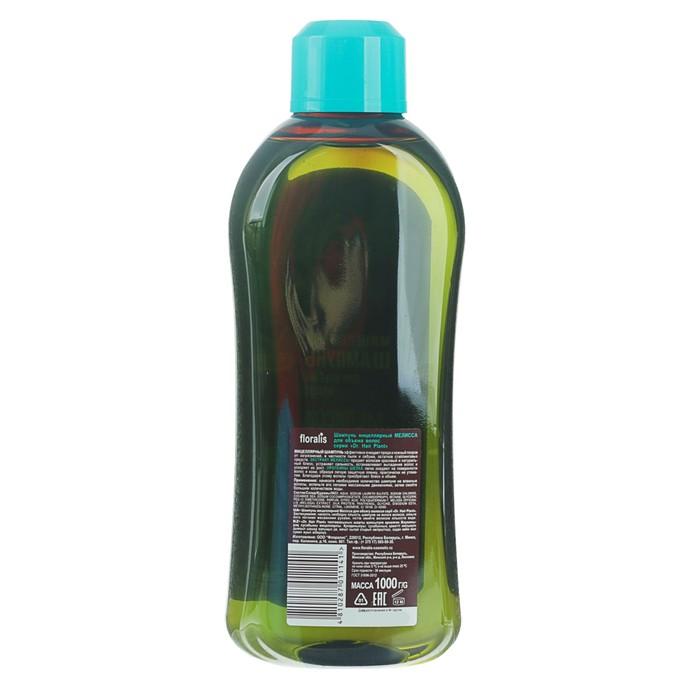 """Шампунь для волос мицеллярный Dr.Hair Plant """"Мелисса"""" для обьема, 1 л"""