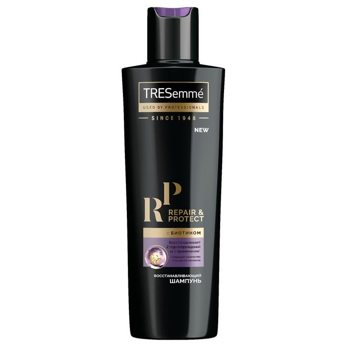 Шампунь для волос Tresemme Repair and Protect, восстанавливающий, с биотином, 230 мл