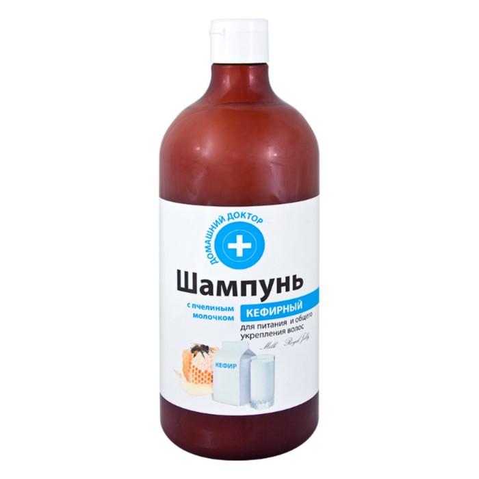 Шампунь Домашний доктор «Кефирный», с пчелиным молочком, 1000 мл
