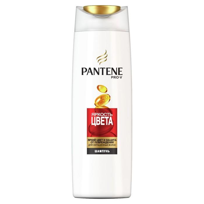 Шампунь для волос Pantene «Яркость цвета», для окрашенных волос, 250 мл