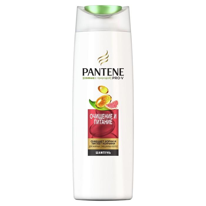 Шампунь для волос Pantene Слияние с природой «Очищение и питание», 250 мл