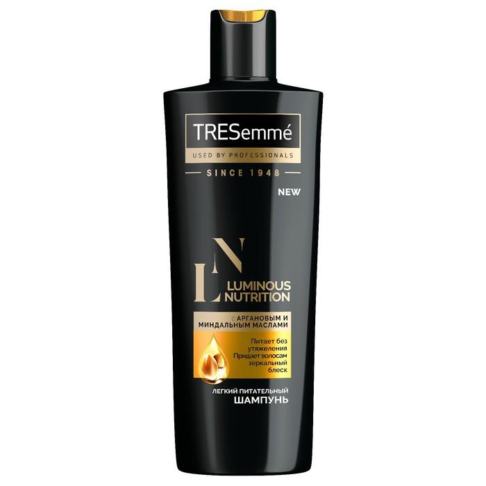 Шампунь для волос Tresemme Luminous Nutrition, питательный, 400 мл