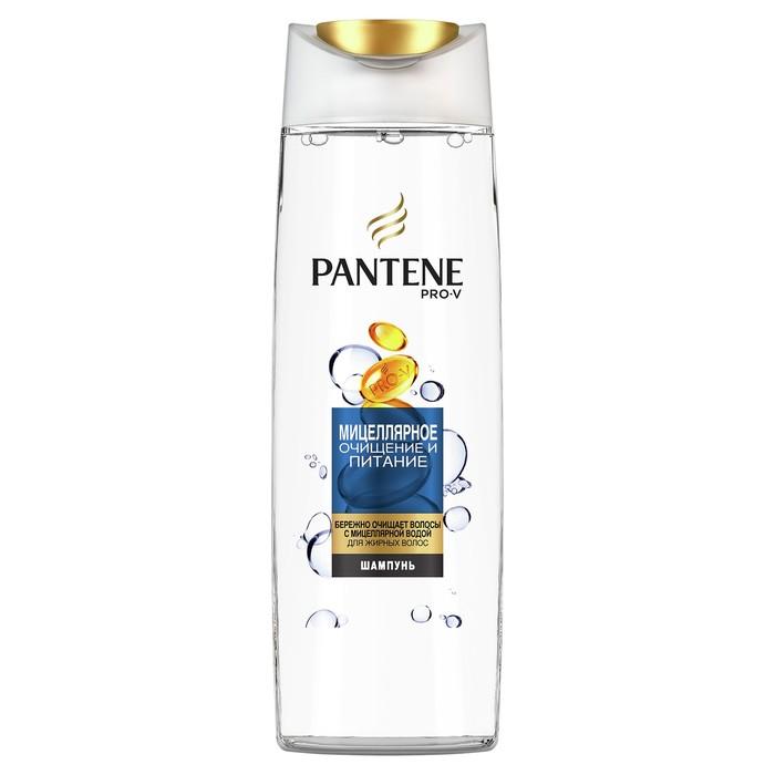 Шампунь для волос Pantene «Мицеллярное очищение и питание», 400 мл