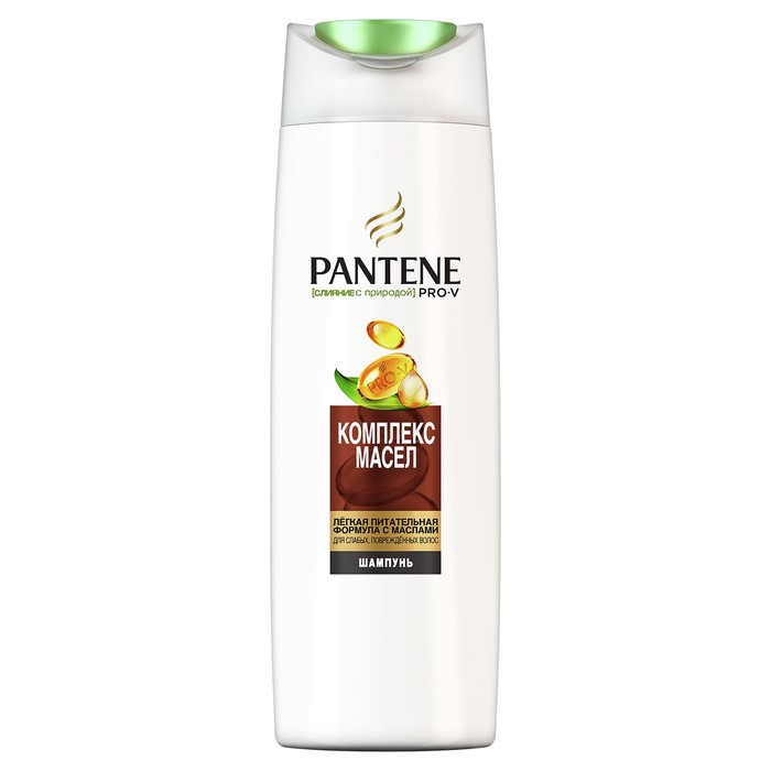Шампунь для волос Pantene Слияние с природой Oil Therapy, 400 мл