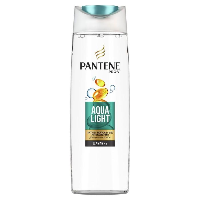 Шампунь для волос Pantene Aqua Light, для жирных волос, 400 мл