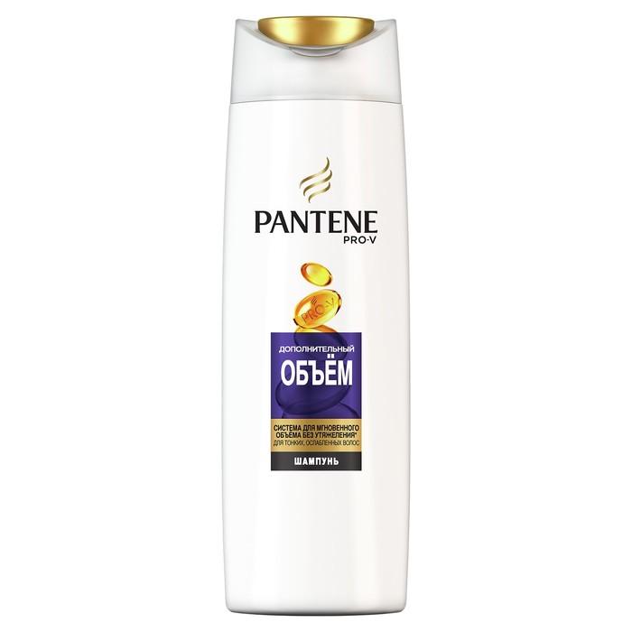 Шампунь для волос Pantene «Дополнительный объём», для тонких волос, 400 мл