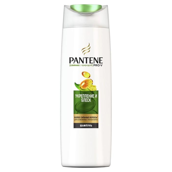 Шампунь для волос Pantene Слияние с природой «Укрепление и блеск», 400 мл