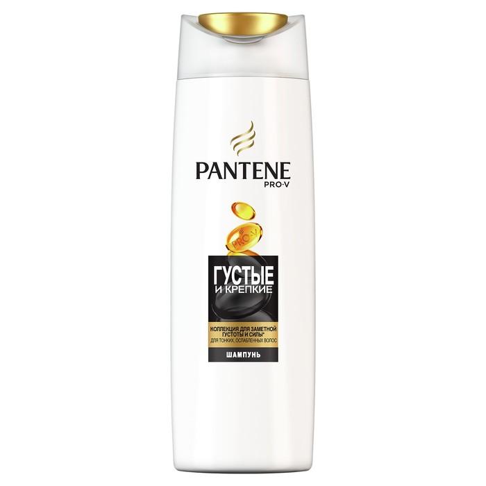 Шампунь для волос Pantene «Густые и крепкие», для тонких и ослабленных волос, 400 мл