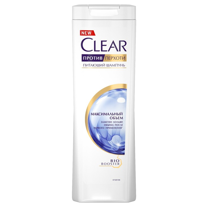 Шампунь для волос Clear «Максимальный объем» против перхоти, 400 мл