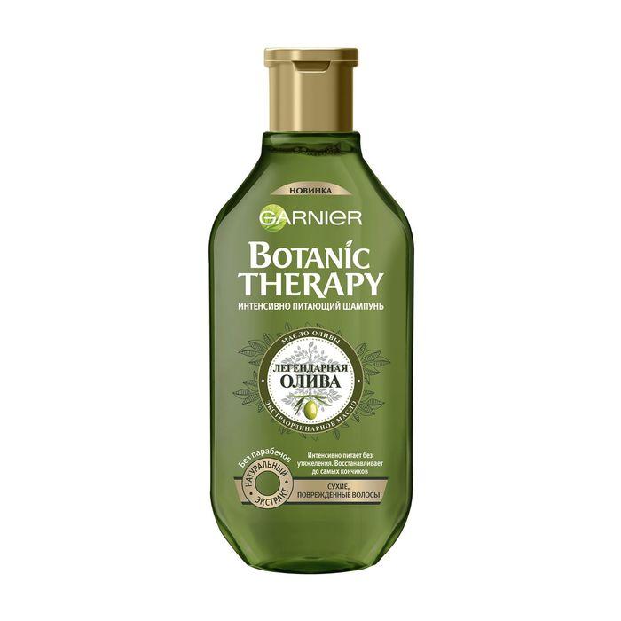 Шампунь Garnier Botanic Therapy «Олива», для сухих и повреждённых волос, 400 мл