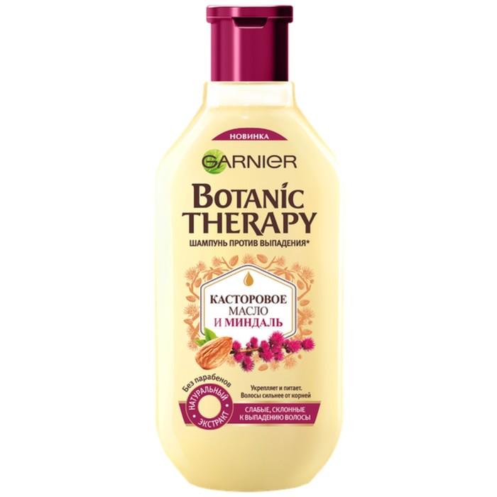 Шампунь Garnier Botanic Therapy «Касторовое масло и миндаль», для ослабленных волос, 400 мл