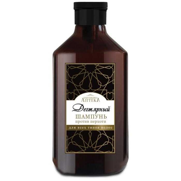 """Шампунь для волос """"Бабушкина аптека"""" Дегтярный против перхоти, 350 мл"""
