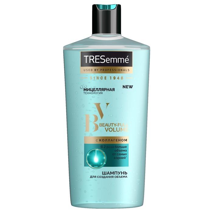 Шампунь для волос Tresemme Beauty-Full Volume для создания объема, питательный, 650 мл