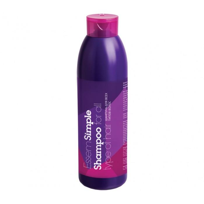 Шампунь для всех типов волос Essem Simple, 1000 мл