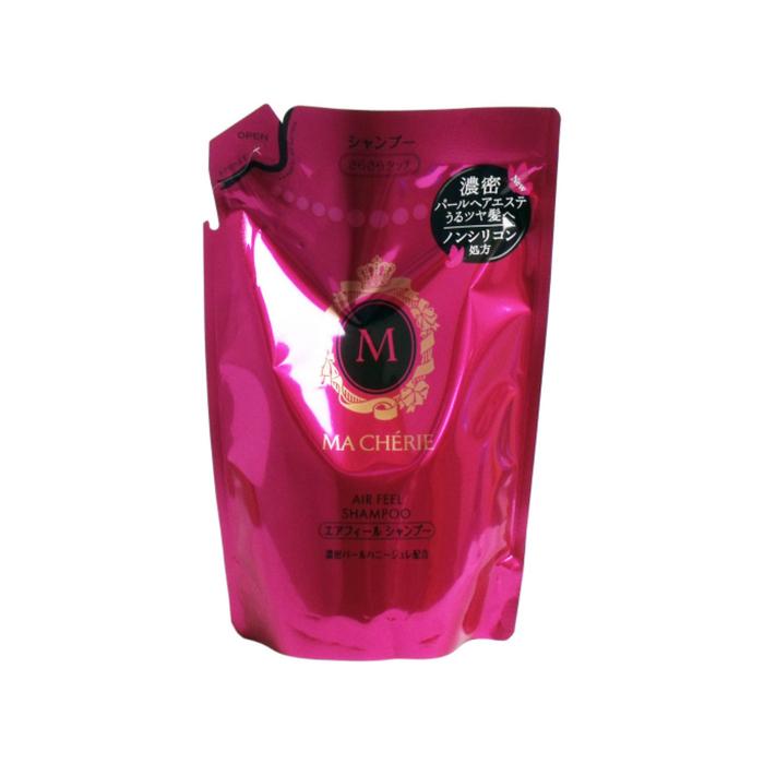 Бессиликоновый шампунь для волос Shiseido Ma Cherie для придания объема с цветочно-фруктовым ароматом, дойпак, 380 мл
