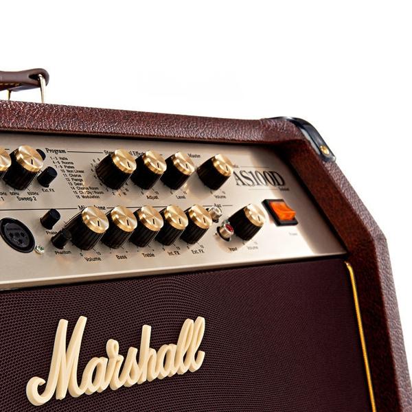 Усилитель для акустической гитары Marshall AS100D