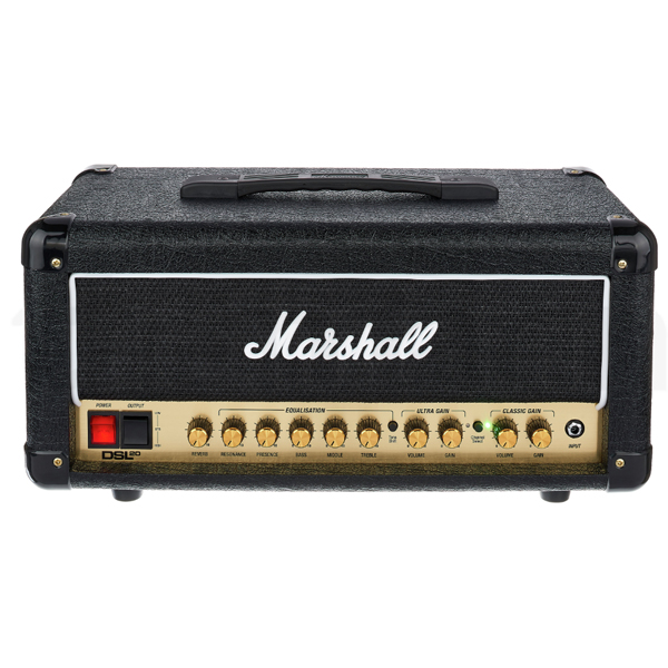 Гитарный усилитель Marshall 20 W Dual CH Valve AMP DSL20HR-E