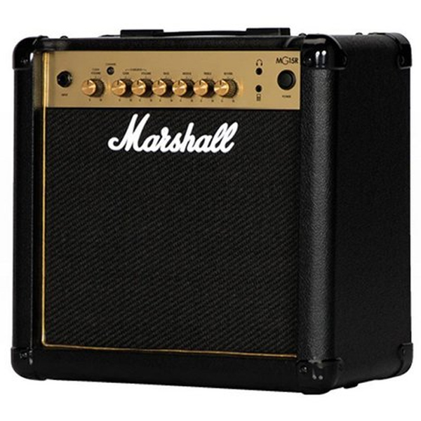 Гитарный усилитель Marshall 15 W Combo 1*8 Reverb MG15GR-E