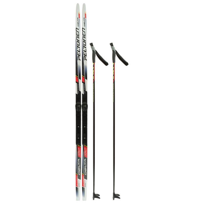 Комплект лыжный БРЕНД ЦСТ 170/130 (+/-5 см), крепление SNS