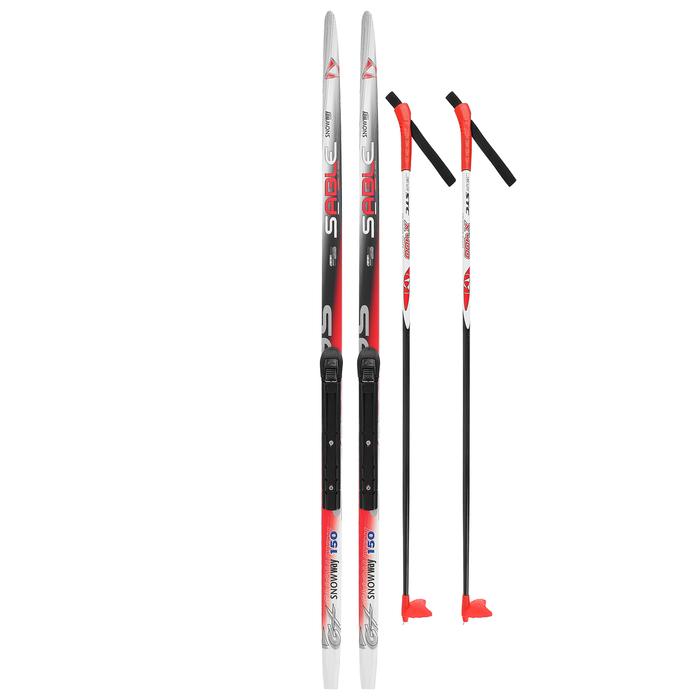 Комплект лыжный БРЕНД ЦСТ 150/110 (+/-5 см), крепление NNN цвет МИКС