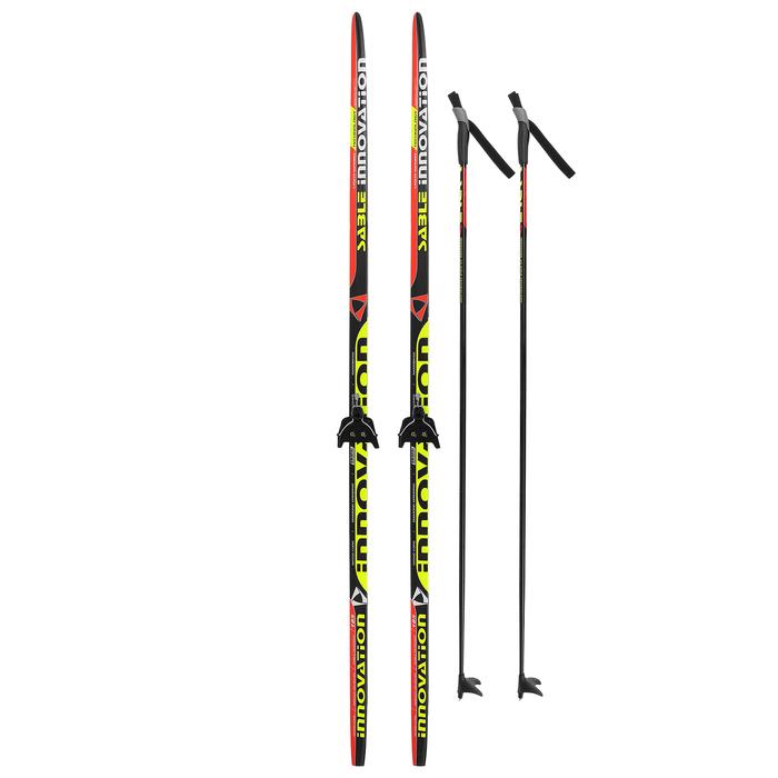 Комплект лыжный БРЕНД ЦСТ Step, 185/145 (+/-5 см), крепление 0075 мм