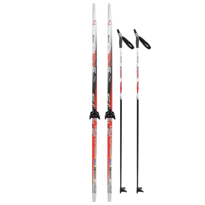 Комплект лыжный БРЕНД ЦСТ Step, 190/150 (+/-5 см), крепление 0075 мм