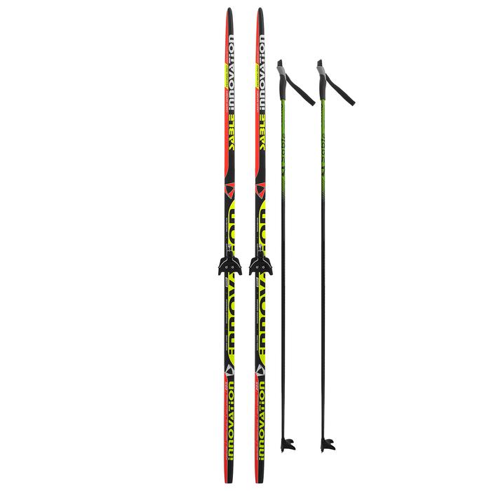 Комплект лыжный БРЕНД ЦСТ 205/165 (+/-5 см), крепление 0075 мм